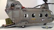 CH-46 Sea Knight Chinook Helicopter