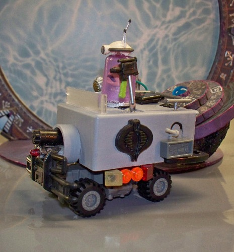 Doctor Mars Rover