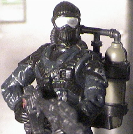 K9/Arms Specialist And Flame Thrower